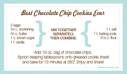 Quick And Easy Choc Chip Cookie Recipes